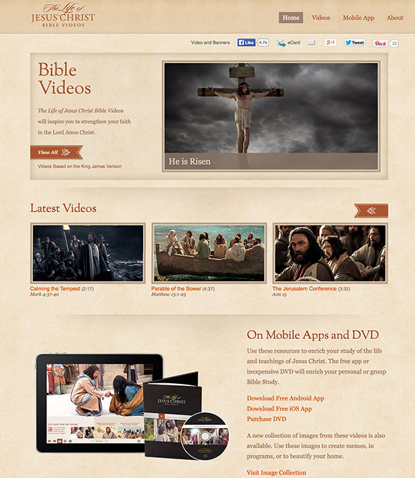 The Life of Jesus Christ Bible Videos | Ryan Lloyd